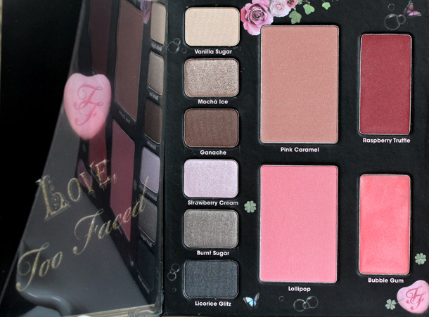 Too Faced Love Sweet Love palette 3