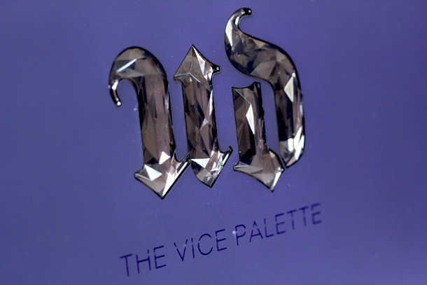 Urban Decay Vice Palette packaging closeup