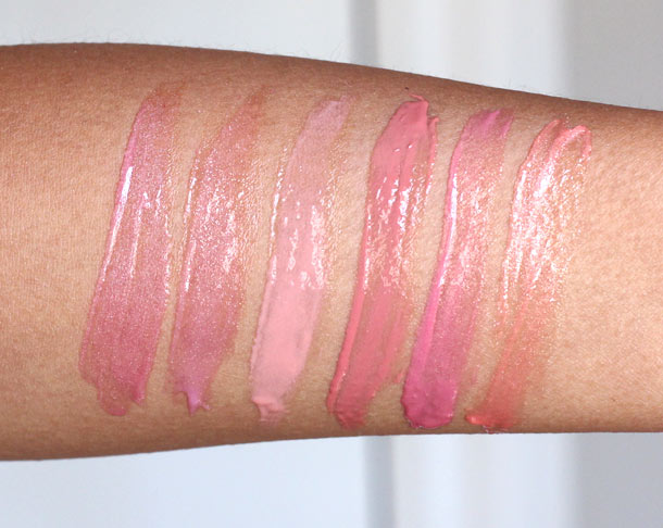 anastasia kisses on my list swatches