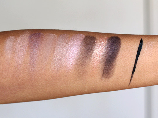 anastasia want you to want me palette swatches
