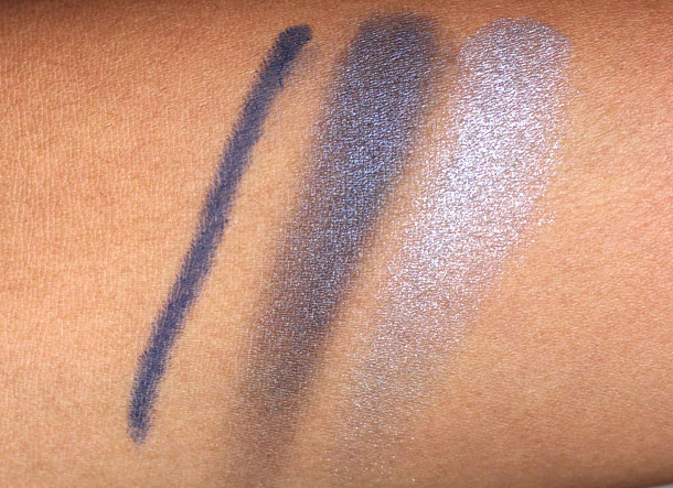 chanel blue illusion de chanel swatches