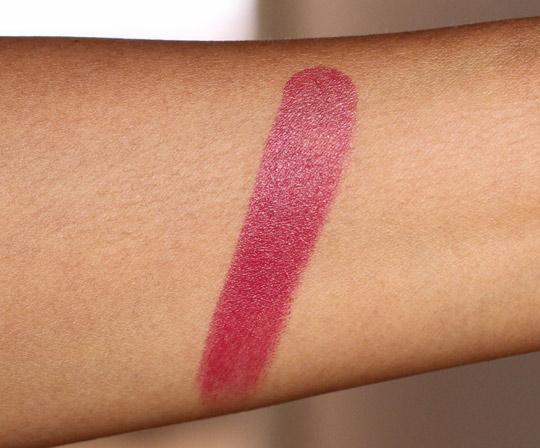 illamasqua magnetism lipstick swatch