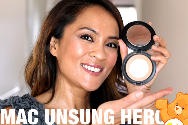 mac unsung heroes careblends pressed powder