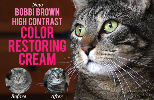 Tabs for Bobbi Brown High Contrast Color Restoring Cream