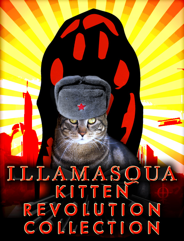 Tabs for the Illamasqua Kitten Revolution Collection