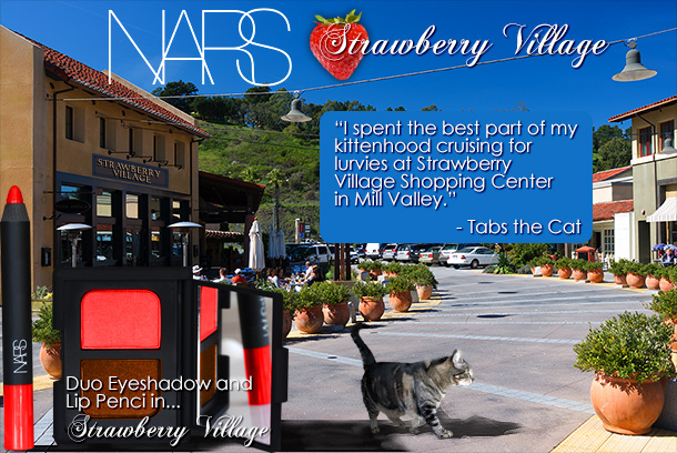Tabs for NARS Strawberry Village