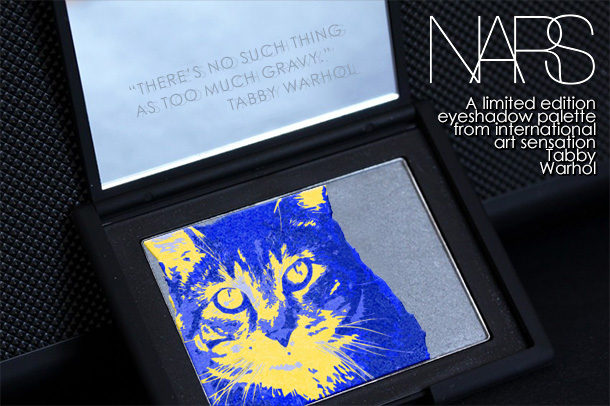 Tabs for NARS Tabby Warhol Eyeshadow Palette