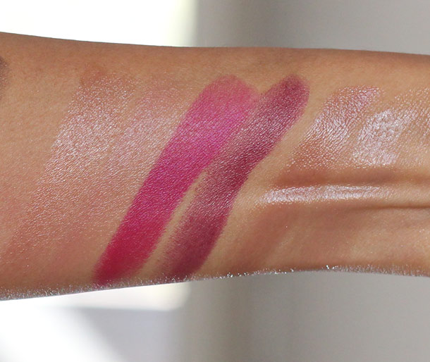 aerin beauty makeup holiday 2012 swatches 2