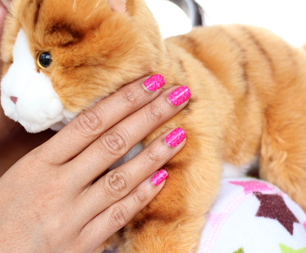 crazy cat lady costume nails sally hanswern salon effects in don't get catty