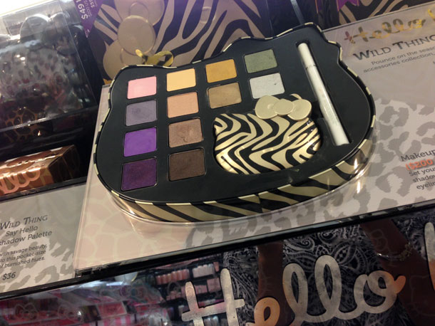 Hello Kitty Wild Thing Makeup Palette, $49