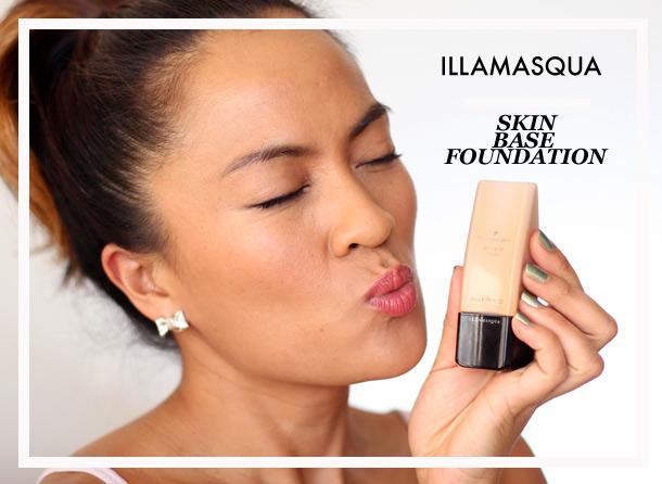 Illamasqua Skin Base Foundation Review