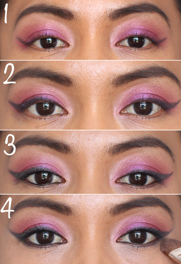 katy perry cat eyes in four easy steps