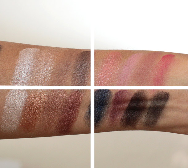 LORAC Eye Candy Full Face Collection Swatches