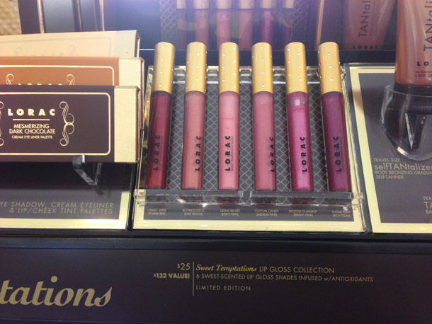 LORAC Sweet Temptations Lip Gloss Collection