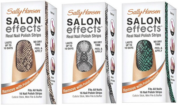 sally hansen salon effects fall 2012