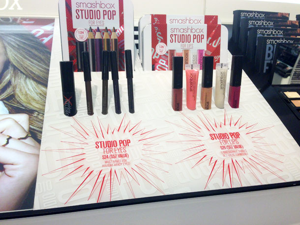 Smashbox Studio Pop For Eyes ($24) on the left and Smashbox Studio Pop For Lips ($26) on the right