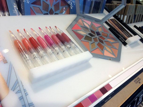 Stila All Is Bright Lip Glaze Set and Snow Angel Color Palette