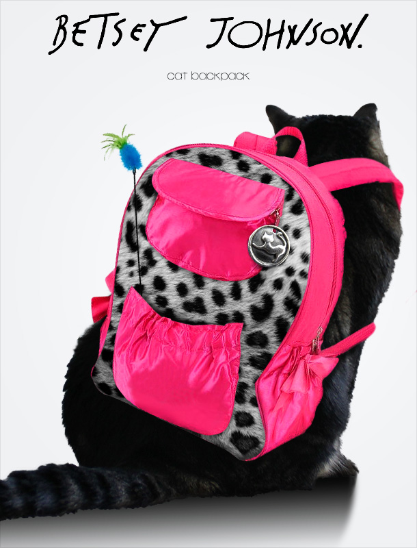 Tabs for the Betsey Johnson Cat Backpack