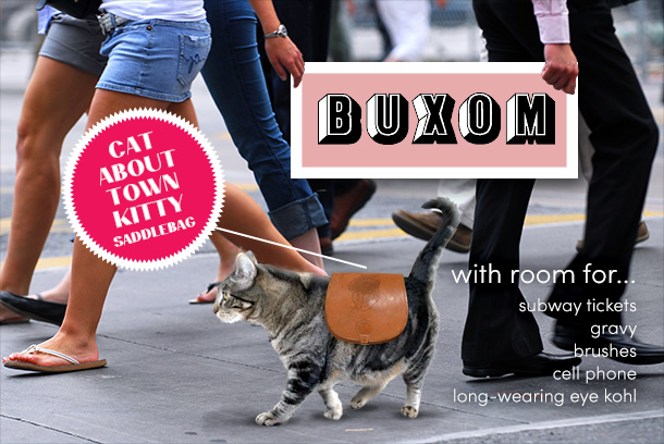 Tabs for the Buxom Cat Saddlebags