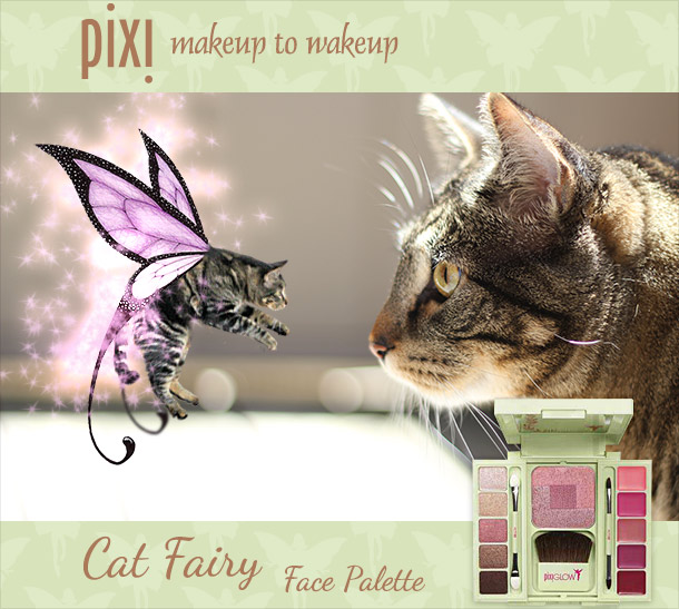 Tabs for the Pixi Cat Fairy Face Palette