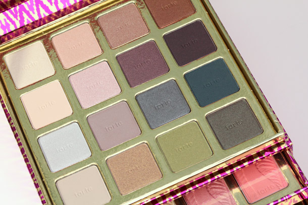 tarte the big thrill box eyeshadows
