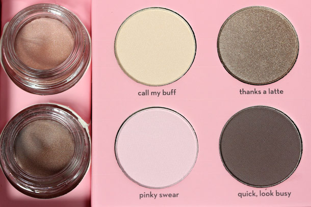 Benefit World Famous Neutrals Eyenessas Easiest Nudes Ever closeup