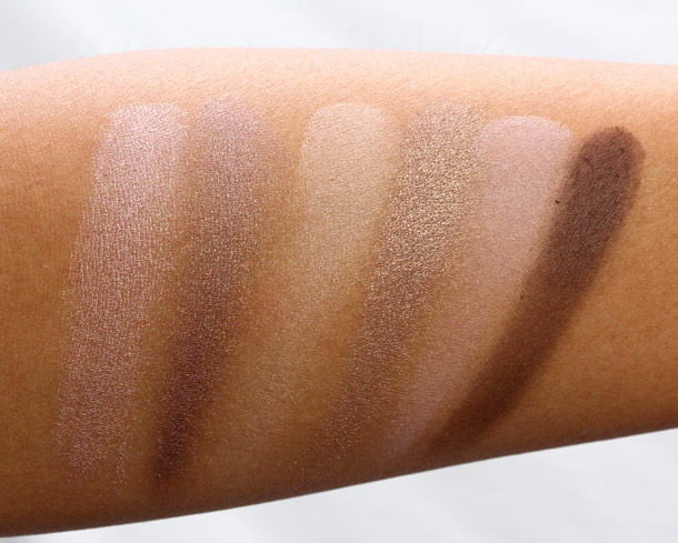 Benefit World Famous Neutrals Eyenessas Easiest Nudes Ever swatches