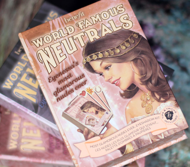 Benefit World Famous Neutrals Eyenessas Most Glamorous Nudes Ever box front