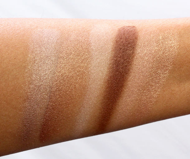 Benefit World Famous Neutrals Eyenessas Most Glamorous Nudes Ever swatches