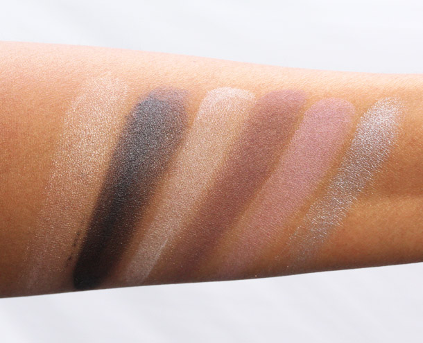 Benefit World Famous Neutrals Eyenessas Sexiest Nudes Ever swatches