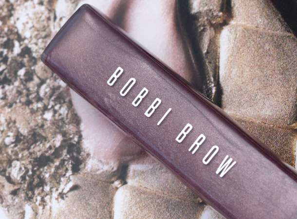 bobbi brown black pearl shimmer lip gloss