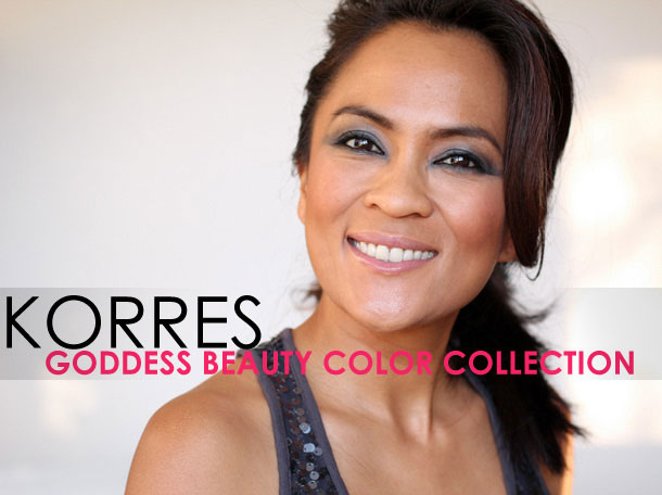 Korres Goddess Beauty Color Collection