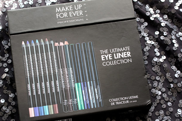 make up for ever ultimate eye liner collection box