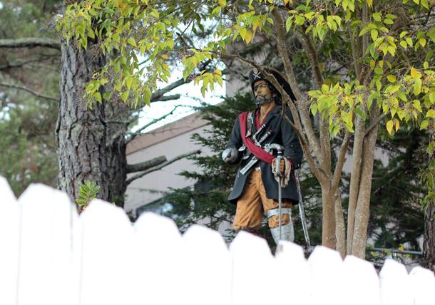 neighborhood pirate!
