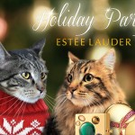 Tabs for the Estee Lauder Holiday Party Collection
