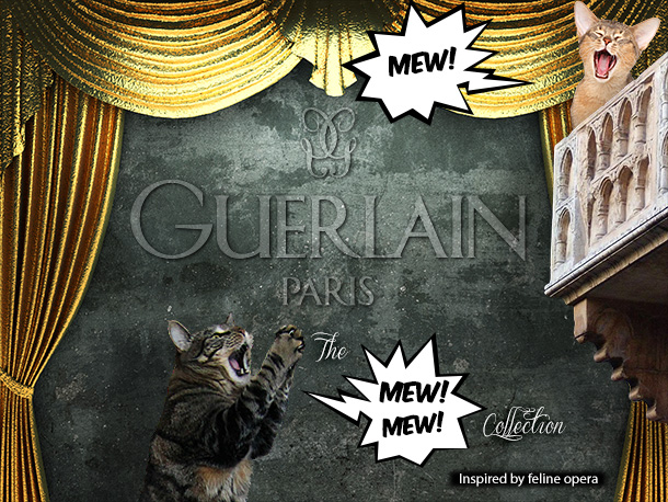 Tabs for the Guerlain Mew Collection