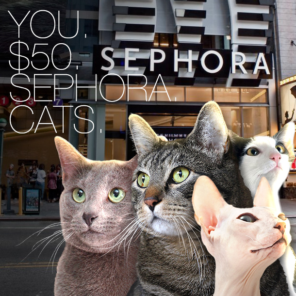 Win a $50 eGift card from Sephora