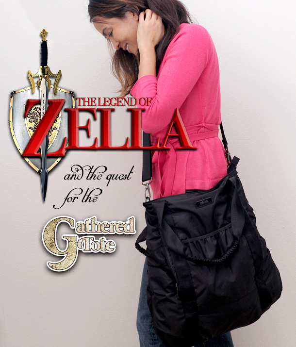 The Zella Gathered Tote