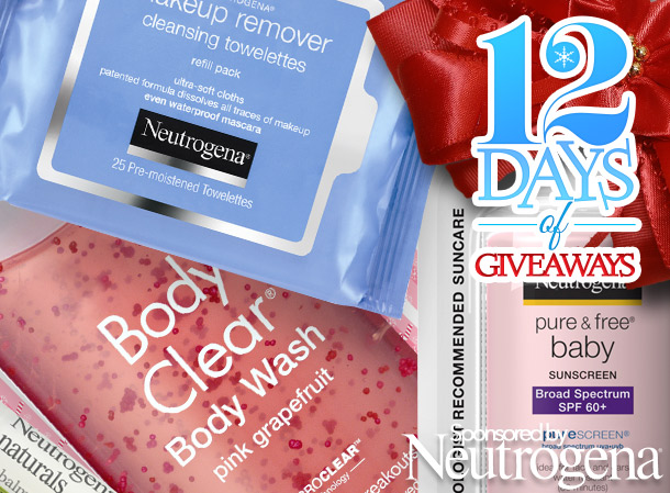 12 days of giveaways sponsored by neutrogena