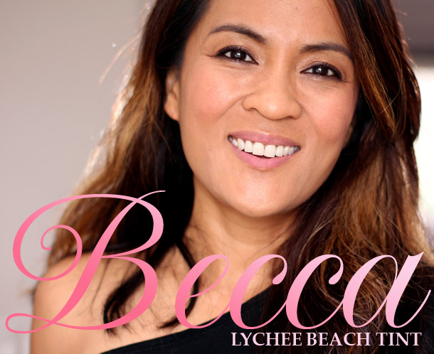becca lychee beach tint