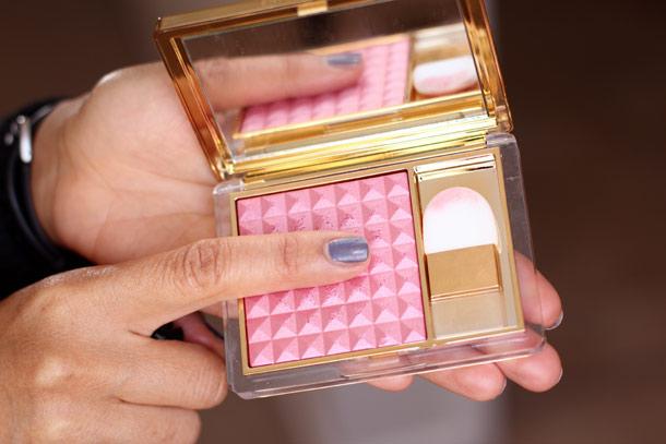Estée Lauder's $40 Pure Color Illuminating Powder Gelée Blush in Tease