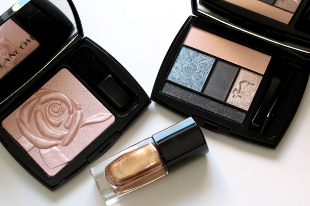 lancome petit tresor holiday 2012 collection overhead