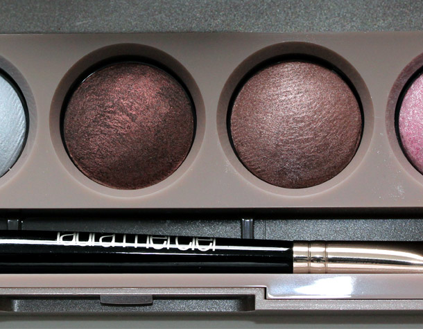 laura mercier free spirit baked eye colour palette closeup