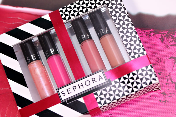 sephora mini ultra shine gloss set