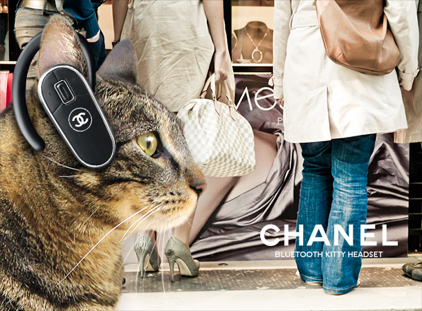 Tabs for the Chanel Bluetooth Kitty Headset