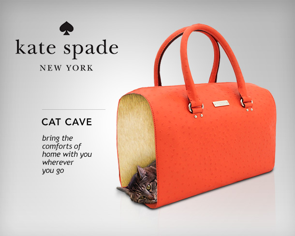Tabs for the Kate Spade Cat Cave