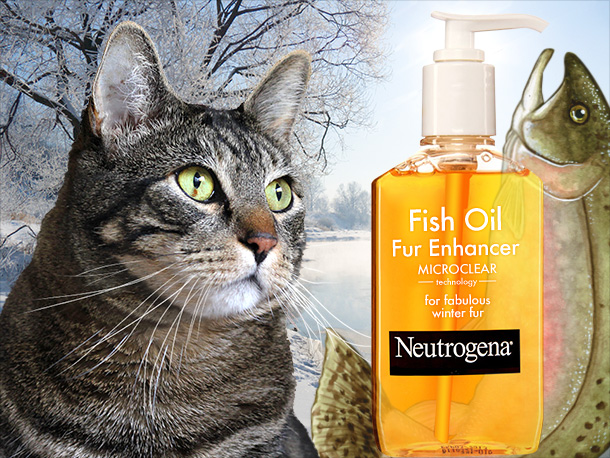 Tabs for the Neutrogena Fish Oil Fur Enhancer