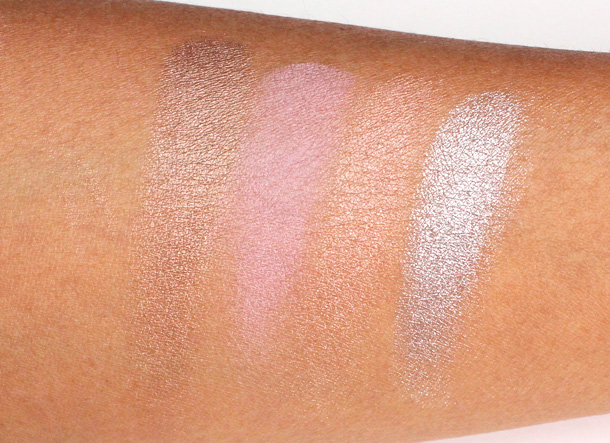 Benefit Longwear Powder Shadow Swatches