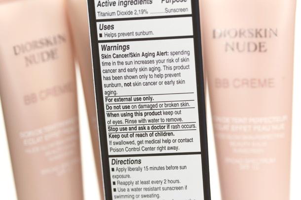 Dior Diorskin Nude BB Creme Packaging