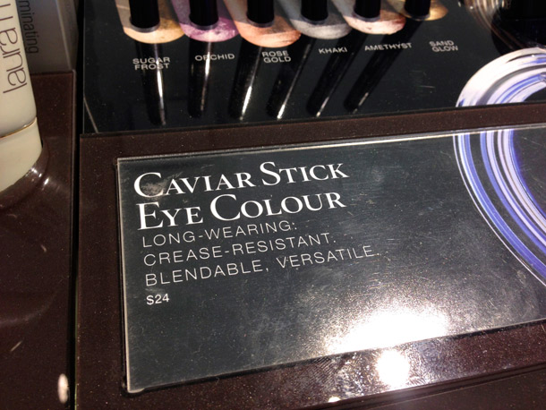 Laura Mercier Caviar Stick Eye Colour Price and Product Description